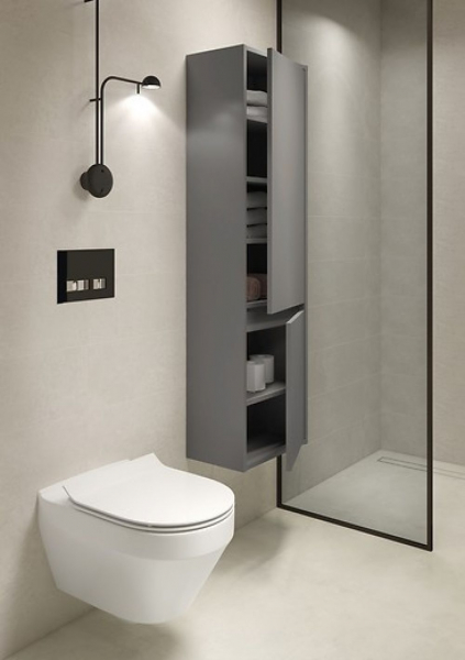 Vas WC Suspendat Cersanit Crea Oval - CleanON [6]