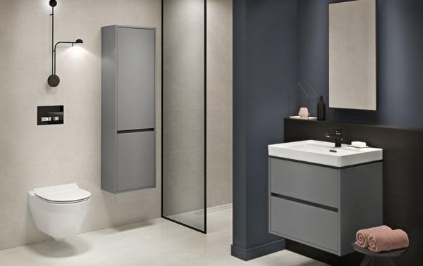 Vas WC Suspendat Cersanit Crea Oval - CleanON [5]