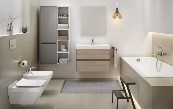 Vas WC Suspendat Cersanit Crea Rectangular - CleanON 10