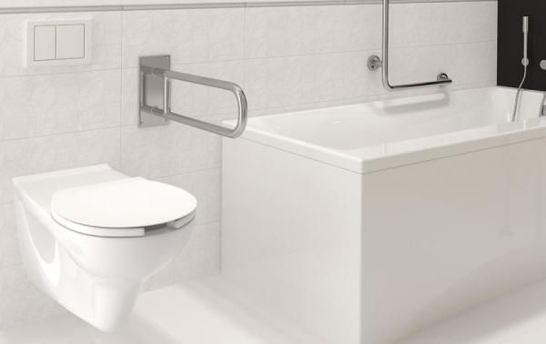 Vas WC Suspendat Cersanit Etiuda - CleanON - pentru persoane cu disabilitati 9