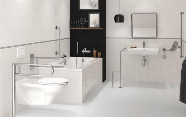 Vas WC Suspendat Cersanit Etiuda - CleanON - pentru persoane cu disabilitati 4