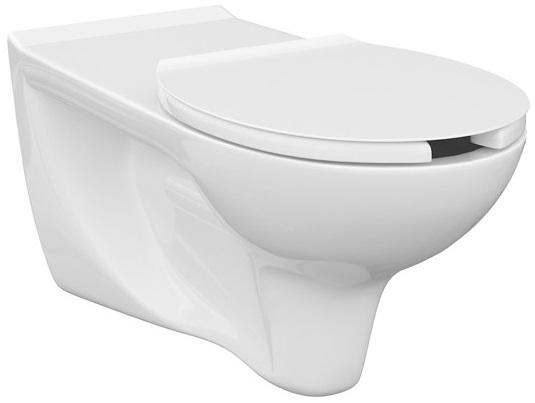 Vas WC Suspendat Cersanit Etiuda - CleanON - pentru persoane cu disabilitati 2