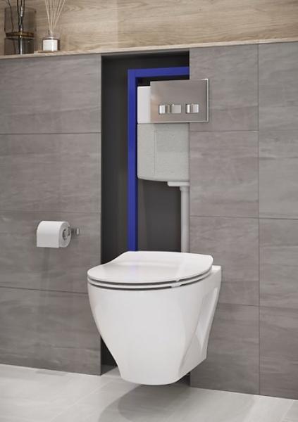 Vas WC Suspendat Cersanit Moduo - CleanON 10
