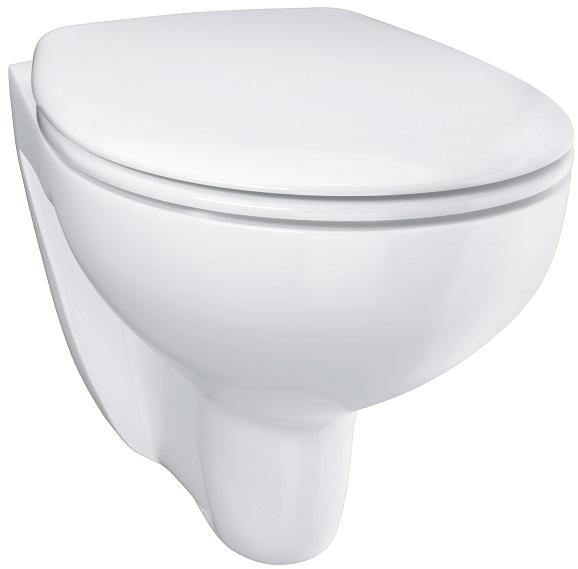 Vas WC Suspendat Grohe Bau Ceramic Rimless + Capac softclose 6