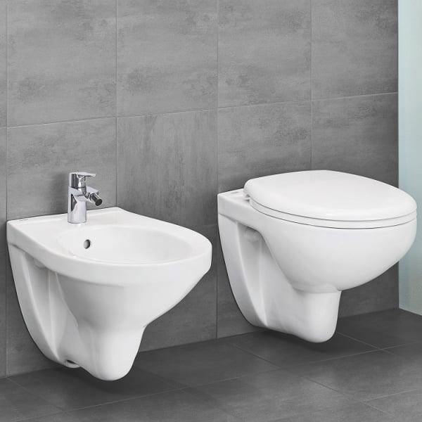 Vas WC Suspendat Grohe Bau Ceramic Rimless + Capac softclose 3