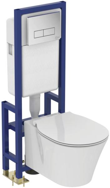 Vas WC Suspendat Ideal Standard Connect Air Aquablade- Fixare ascunsa 4