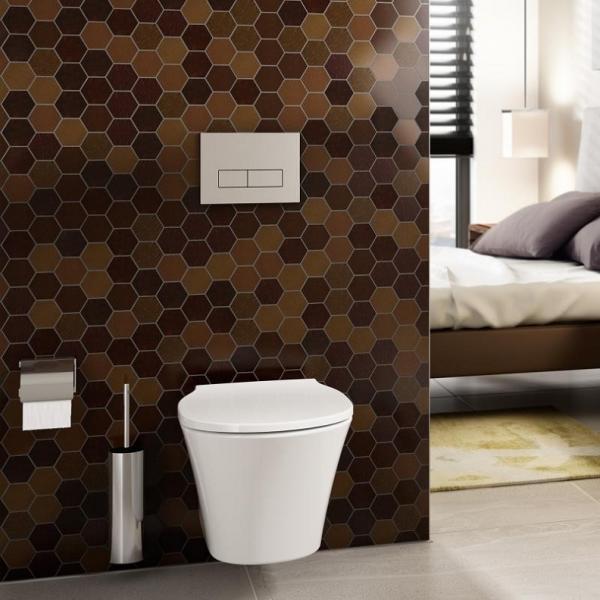 Vas WC Suspendat Ideal Standard Connect Air Aquablade- Fixare ascunsa 5