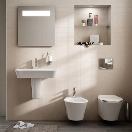 Vas WC Suspendat Ideal Standard Connect Air Aquablade- Fixare ascunsa 7