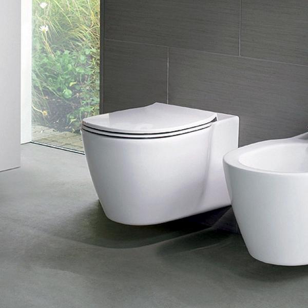 Vas WC Suspendat Ideal Standard Connect Aquablade- Fixare ascunsa [3]