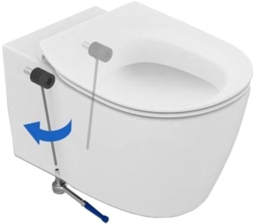 Vas WC Suspendat Ideal Standard Connect cu functie de bideu - Fixare ascunsa 1