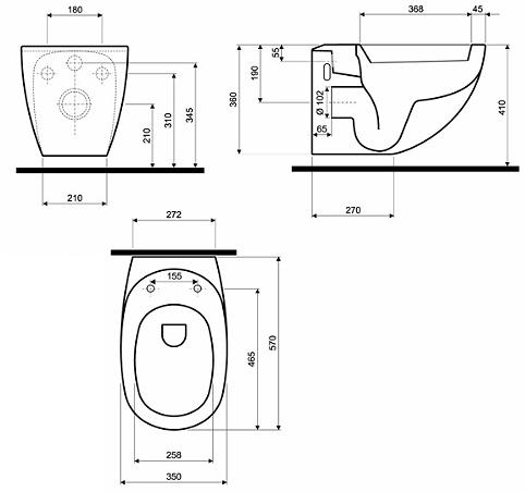 Vas WC Suspendat Kolo EGO by Antonio Citterio [6]