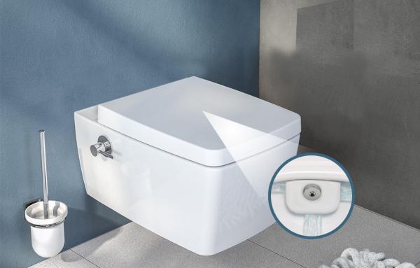 Vas WC Suspendat Vitra S50 RimEX cu functie de bideu 6