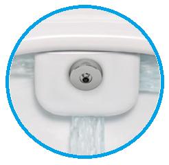 Vas WC Suspendat Vitra S50 RimEX cu functie de bideu 1