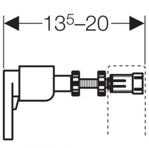 ALL IN ONE Incastrat - Geberit + Grohe + Vitra S50 RIMEX - Cu functie bideu - Gata de montaj - Vas wc Vitra S50 RIMEX cu functie bideu + Capac softclose + Rezervor Geberit + Baterie incastrata Grohe9