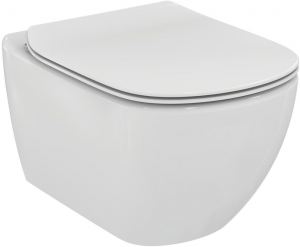ALL IN ONE Incastrat - Geberit + Ideal Standard Tesi Aquablade + Paffoni - Cu dus Igienic - Gata de montaj - Vas wc Suspendat Ideal Standard Tesi Aquablade + Capac softclose + Rezervor Geberit2