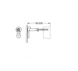 ALL IN ONE Incastrat - Grohe + Ideal Standard Tesi Aquablade + Paffoni - Cu dus Igienic - Gata de montaj - Vas wc Suspendat Ideal Standard Tesi Aquablade + Capac softclose + Rezervor Grohe9