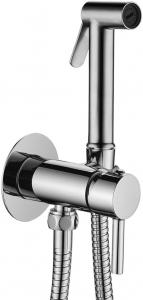 ALL IN ONE Incastrat - KOLO + Cersanit Delphi - Cu dus Igienic - Gata de montaj - Vas wc Suspendat Cersanit Delphi + Capac softclose + Rezervor KOLO [8]