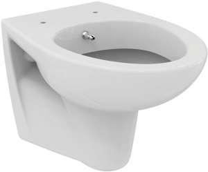 ALL IN ONE Incastrat - LIV + Paffoni cu termostat + Vas wc Suspendat Ideal Standard Eurovit - Cu functie de bideu - Gata de montaj - Vas wc Suspendat Ideal Standard Eurovit cu functie de bideu + Capac1