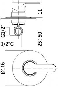 ALL IN ONE Incastrat - Schell + Paffoni + Eurovit - Cu functie bideu - Gata de montaj - Vas wc Ideal Standard Eurovit cu functie bideu + Capac softclose + Rezervor Schell + Baterie incastrata bideu Pa [8]