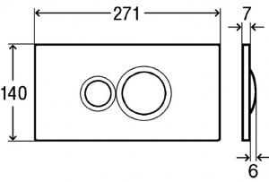 ALL IN ONE Incastrat - Viega + Paffoni + Connect - Cu functie bideu - Gata de montaj - Vas wc Ideal Standard Connect cu functie bideu + Capac softclose + Rezervor Schell + Baterie incastrata bideu Gro [6]