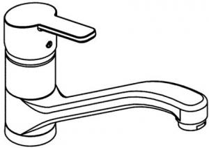 Baterie bucatarie Kludi Logo Neo [1]