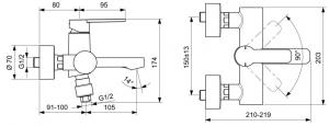 Baterie cada Ideal Standard Gio [1]