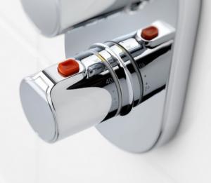 Baterie cada incastrata termostatata Roca T500 - Corp ingropat inclus1