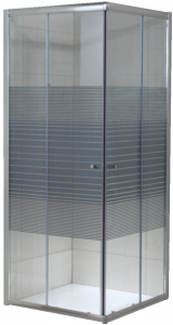 Cabina de dus patrata Belform Grid 80x80 - geam 6mm0