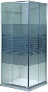 Cabina de dus patrata Belform Grid 80x80 - geam 6mm2