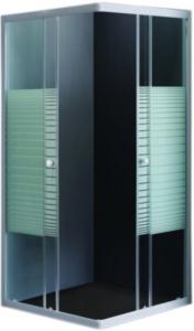 Cabina de dus patrata Belform Grid 90x900