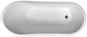 Cada Baie Compozit Besco Gloria 160x68 cu sifon cromat inclus 3
