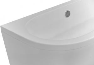 Cada Baie Compozit Besco Vista 160x75 cu masca si sifon inclus click-clack6