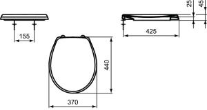 Capac WC Ideal Standard Eurovit1