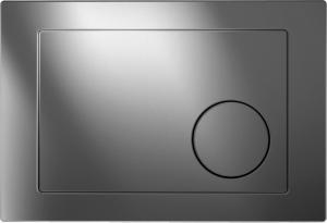 Clapeta actionare rezervor Cersanit Link - Model 2 Crom lucios0