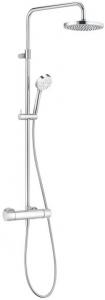Coloana dus Kludi Logo Dual Shower - Baterie dus termostatata0
