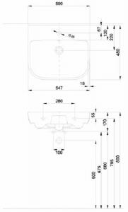 Lavoar Kolo Traffic 55 CM - Pentru montaj pe blat [5]