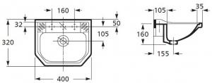 Lavoar Zoom rectangular pentru Copii 40 CM [1]