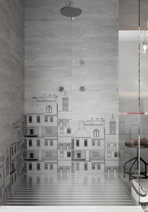 Mobilier Coloana Cersanit City - Alb3