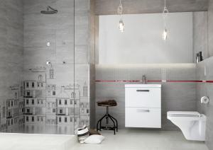 Mobilier Coloana Cersanit City - Stejar Argintiu1