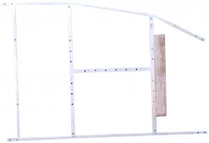 Pachet Complet - Cada Baie Acril Belform Magnus 160x115 + Cadru Metalic + Sifon Evacuare COLT DREAPTA2