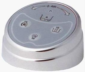 Pachet Complet - Cada Baie Acril Belform Nordica 160x70 cu sistem Hidromasaj si Aeromasaj S3 DuoLight + Cadru Metalic + Masca Frontala + Sifon Automat Evacuare - Iluminare si control digital3