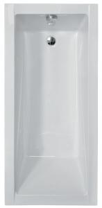 Pachet Complet - Cada Baie Acril Besco Modern 130x70 + Cadru Metalic + Masca Frontala + Masca Laterala + Sifon Evacuare1