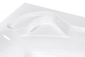 Pachet Complet - Cada Baie Acril Fibrocom Ares 160x105 COLT STANGA + Cadru Metalic + Masca Frontala + Sifon Evacuare3