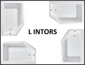 Pachet Complet - Cada Baie Acril Fibrocom Extensy 150x100 COLT STANGA + Cadru Metalic + Masca Frontala + Sifon Evacuare2
