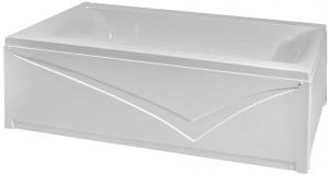 Pachet Complet - Cada Baie Acril Fibrocom Simplis 180x80 + Cadru Metalic + Masca Frontala + Sifon Evacuare2