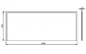 Pachet Complet - Cada Baie Acril Kolo Opal Plus 160x70 + Cadru Metalic + Masca Frontala MDF + Sifon Evacuare10