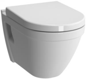 Pachet Complet Sistem WC cu Bideu Suspendat Vitra S50 - Gata de Montaj - Cadru fixare + Rezervor Ingropat, Clapeta Crom, Vas WC cu functie de bideu, Sistem complet baterie incastrata bideu si Capac WC2