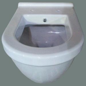 Pachet Complet Sistem WC cu Bideu Suspendat Vitra S50 - Gata de Montaj - Cadru fixare + Rezervor Ingropat, Clapeta Crom, Vas WC cu functie de bideu, Sistem complet baterie incastrata bideu si Capac WC13