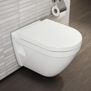 Pachet Complet Sistem WC cu Bideu Suspendat Vitra S50 - Gata de Montaj - Cadru fixare + Rezervor Ingropat, Clapeta Crom, Vas WC cu functie de bideu, Sistem complet baterie incastrata bideu si Capac WC1