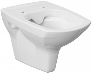 Pachet Complet Sistem WC Suspendat Cersanit Carina CLeanON - Gata de Montaj - Cadru fixare + Rezervor Ingropat, Clapeta Crom, Vas WC si Capac WC SoftClose1